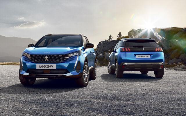 Peugeot 2008 ja 3008 Anniversary -juhlamallit
