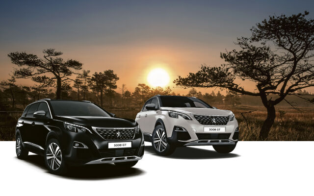 Peugeot 3008 ja 5008 Motion -mallisto 1% rahoituksella