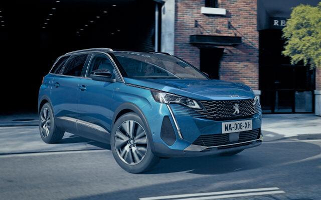 Uusi tilava Peugeot 5008