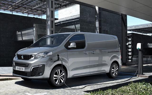 Uusi Peugeot e-Expert