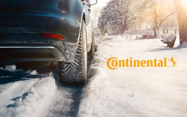 Continentalin talvirenkaat nyt huippuedullisesti