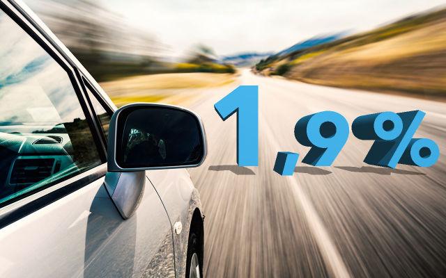 Erään vaihtoautoja rahoituskorko alkaen 1,9% + kulut