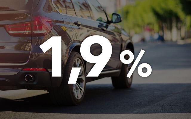 Erä vaihtoautoja: korko 1,9% +kulut ja 3 kk lykkäystä