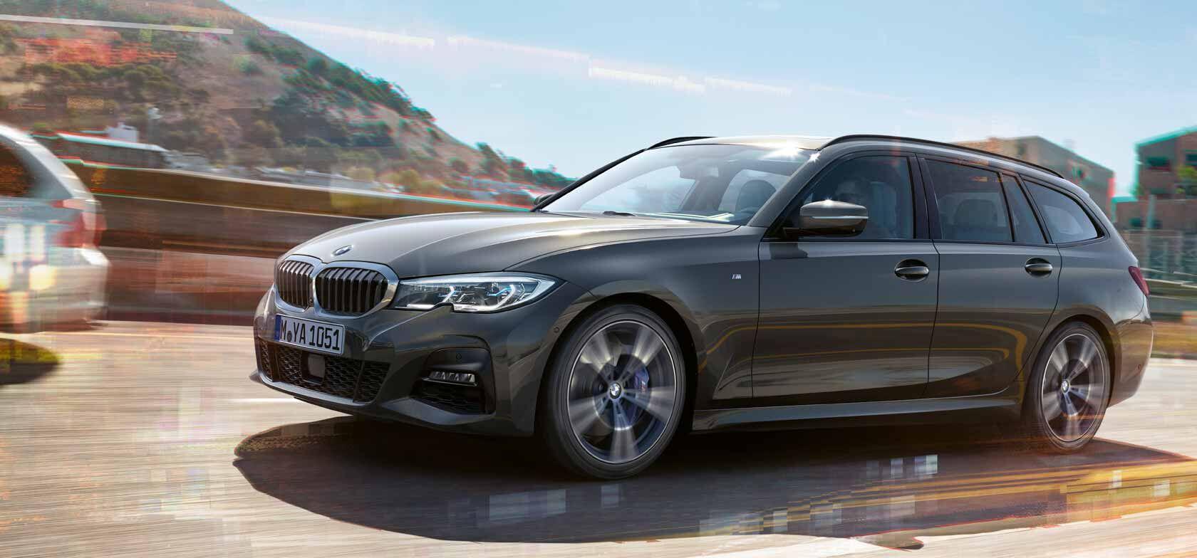THE 3. Uusi BMW 3-sarjan Touring.