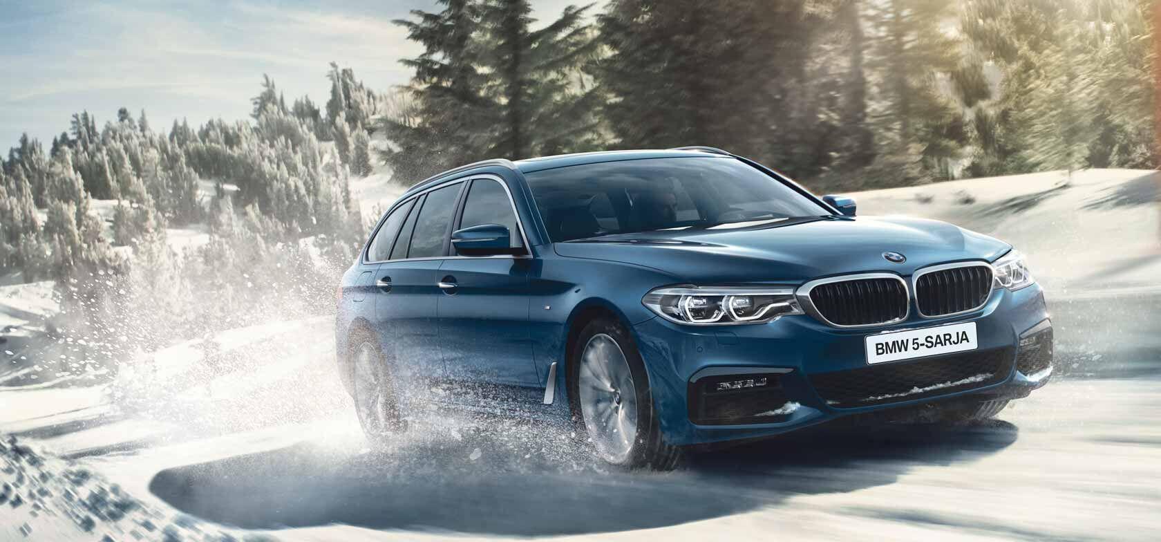 BMW 5-SARJAAN xDRIVE -NELIVETO NYT 490 €