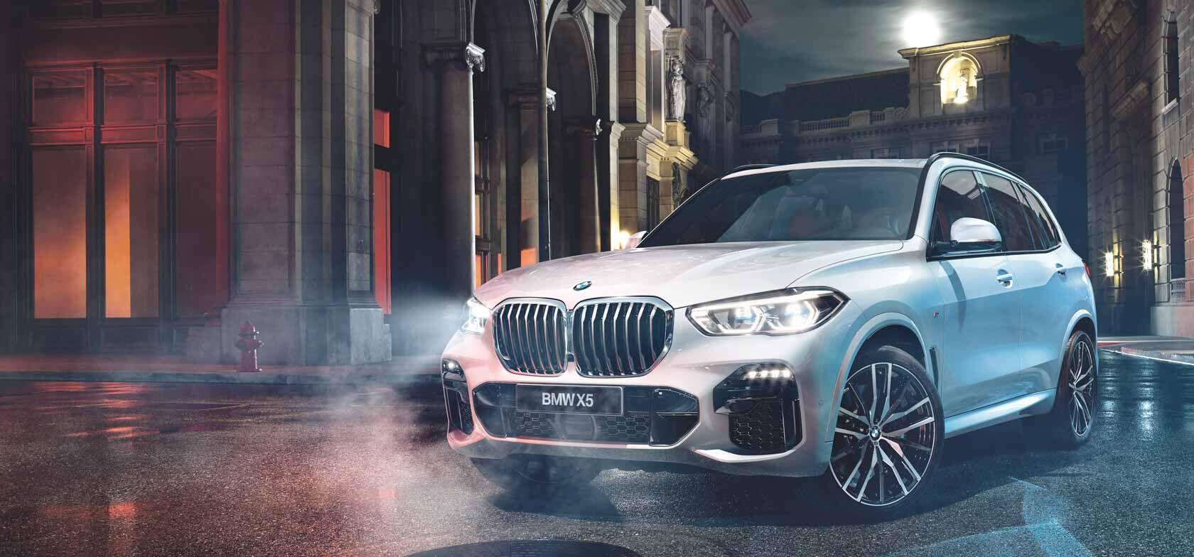 TÄYSIN UUSI BMW X5. SAATAVANA MYÖS LADATTAVANA HYBRIDINÄ.
