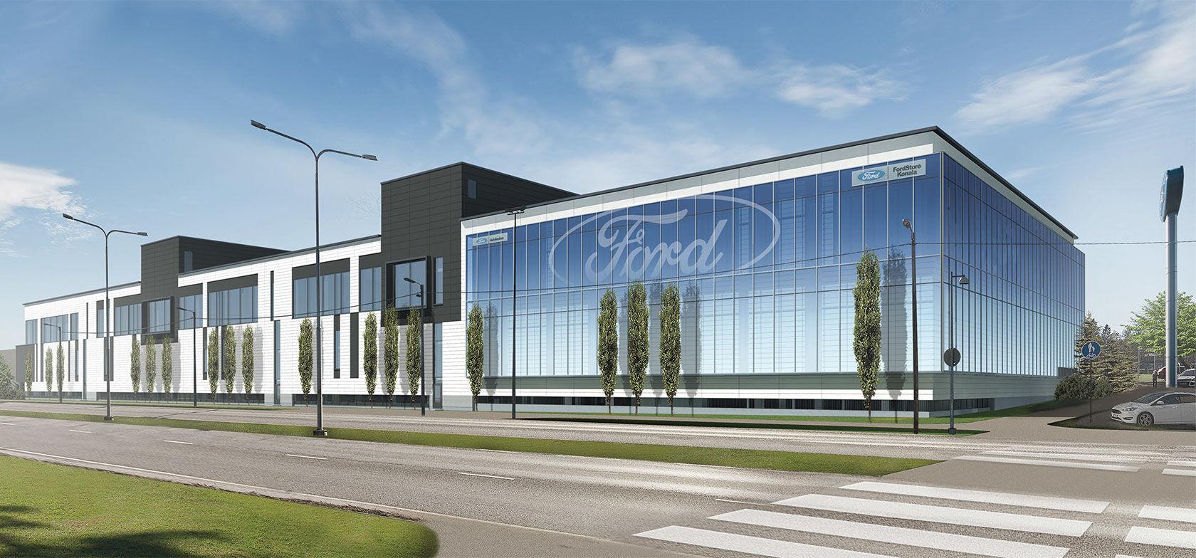 FordStore Autokeskus Konalan avajaiset