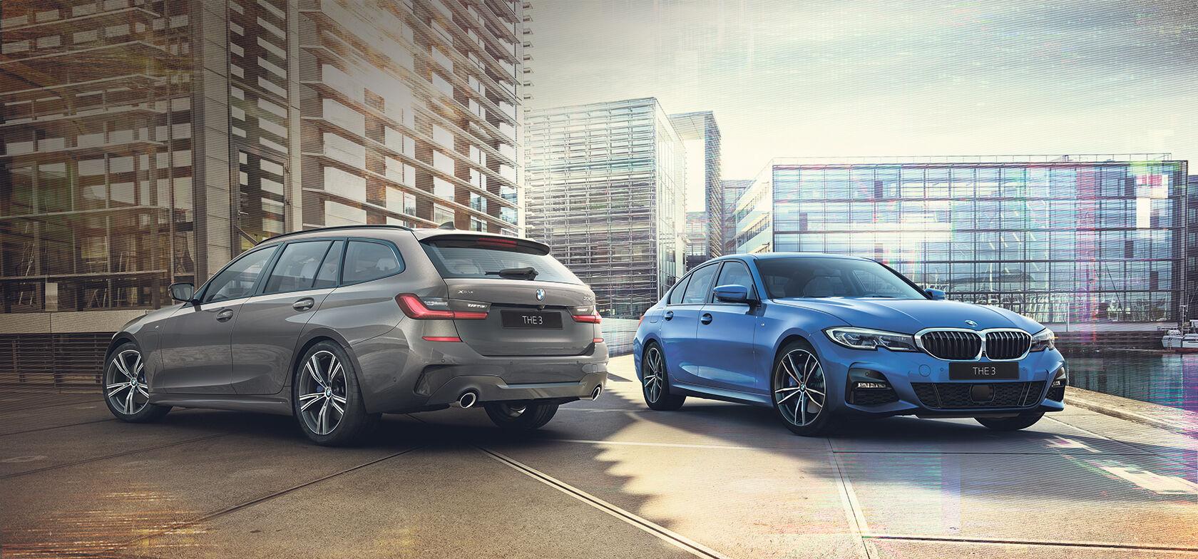 BMW 3-SARJAN TOURING JA SEDAN PLUG-IN HYBRID