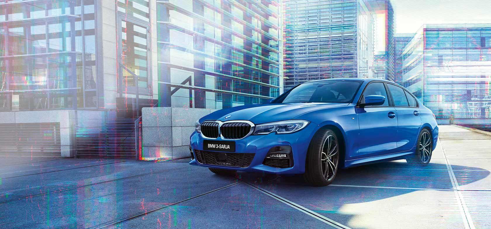 UUSI BMW 3-SARJAN SEDAN.
