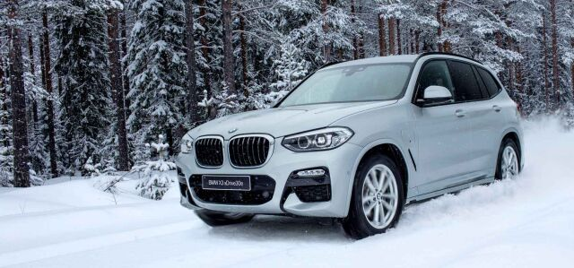BMW X3 PHEV ostajalle nyt huikea tarjous: