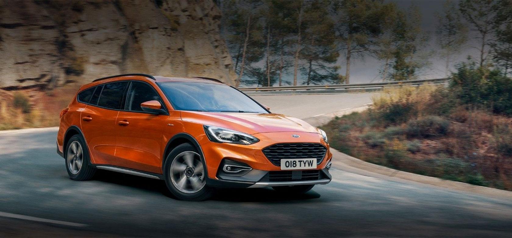 Täysin uusi Ford Focus Active