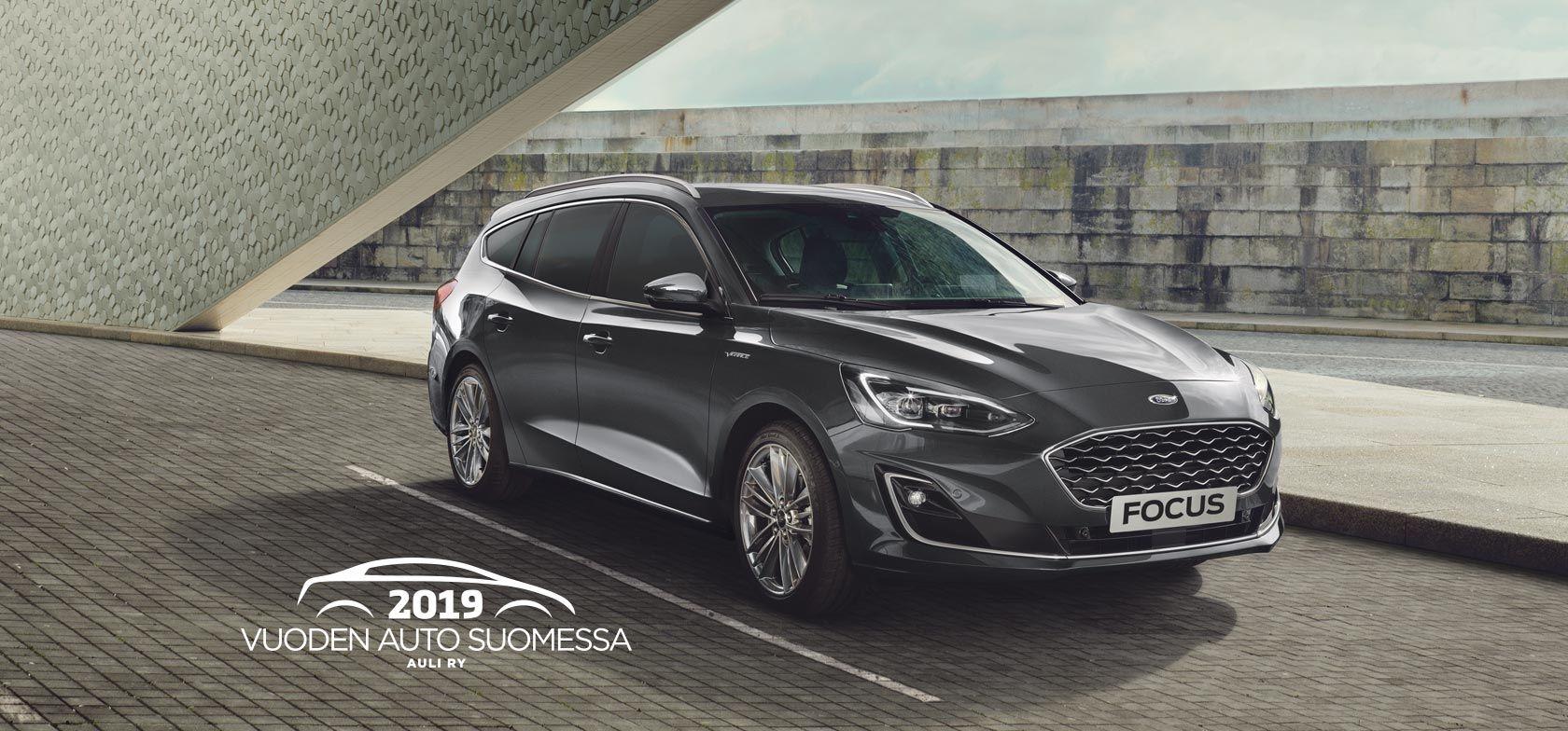 TÄYSIN UUSI FORD FOCUS - Vuoden auto Suomessa 2019