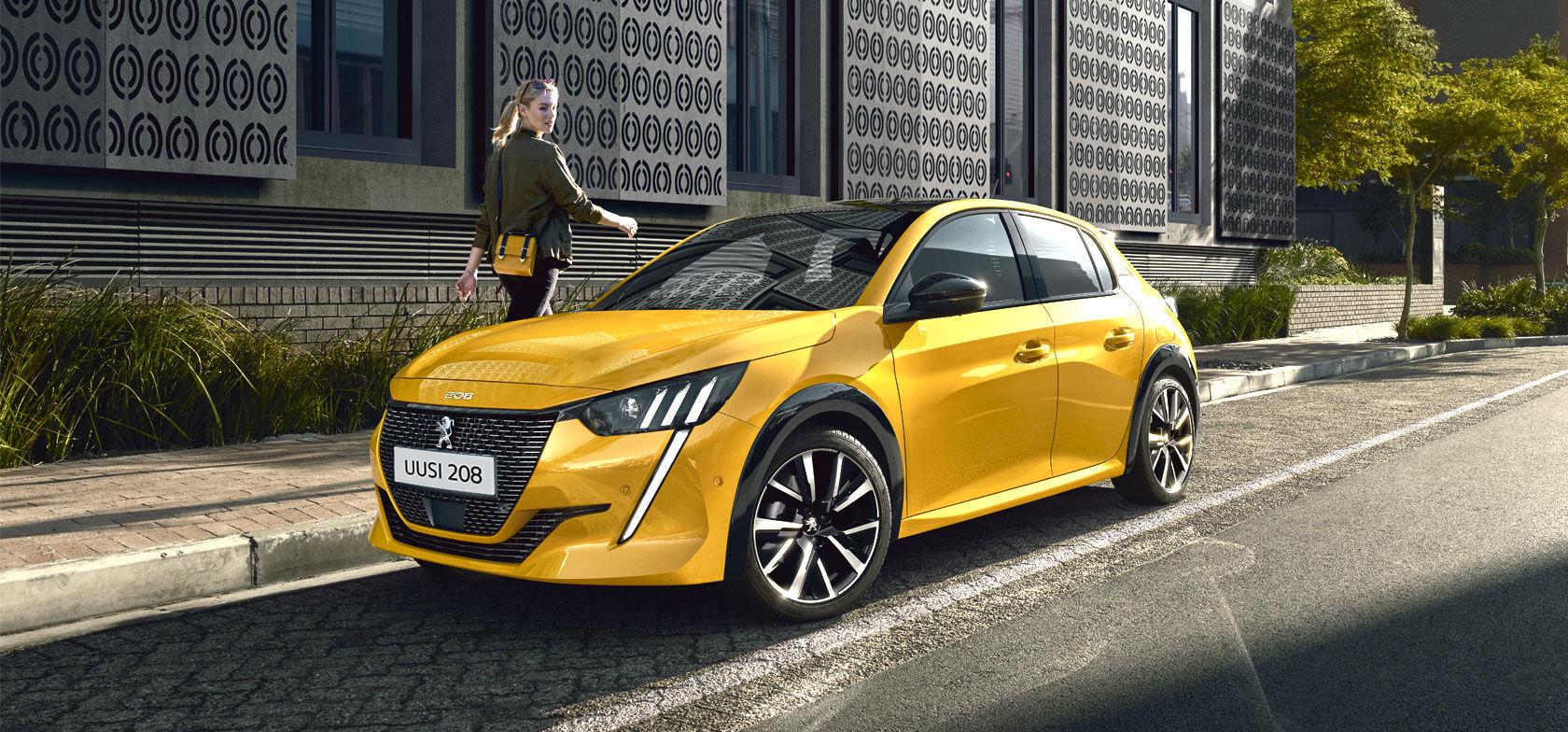 Vuoden auto Euroopassa 2020 –uusi Peugeot 208 nyt esittelyssä