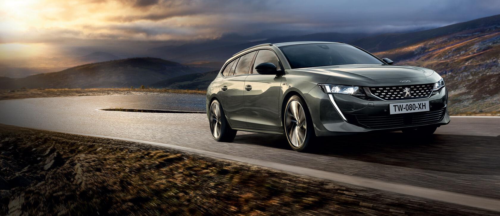 Uusi Peugeot 508 SW - nyt koeajettavissa!