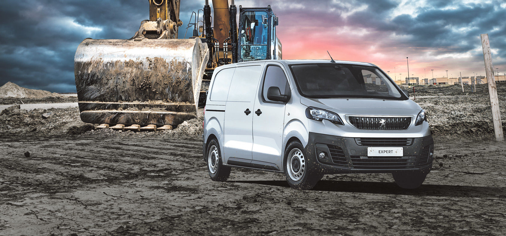Peugeot Expert nyt myös nelivetona