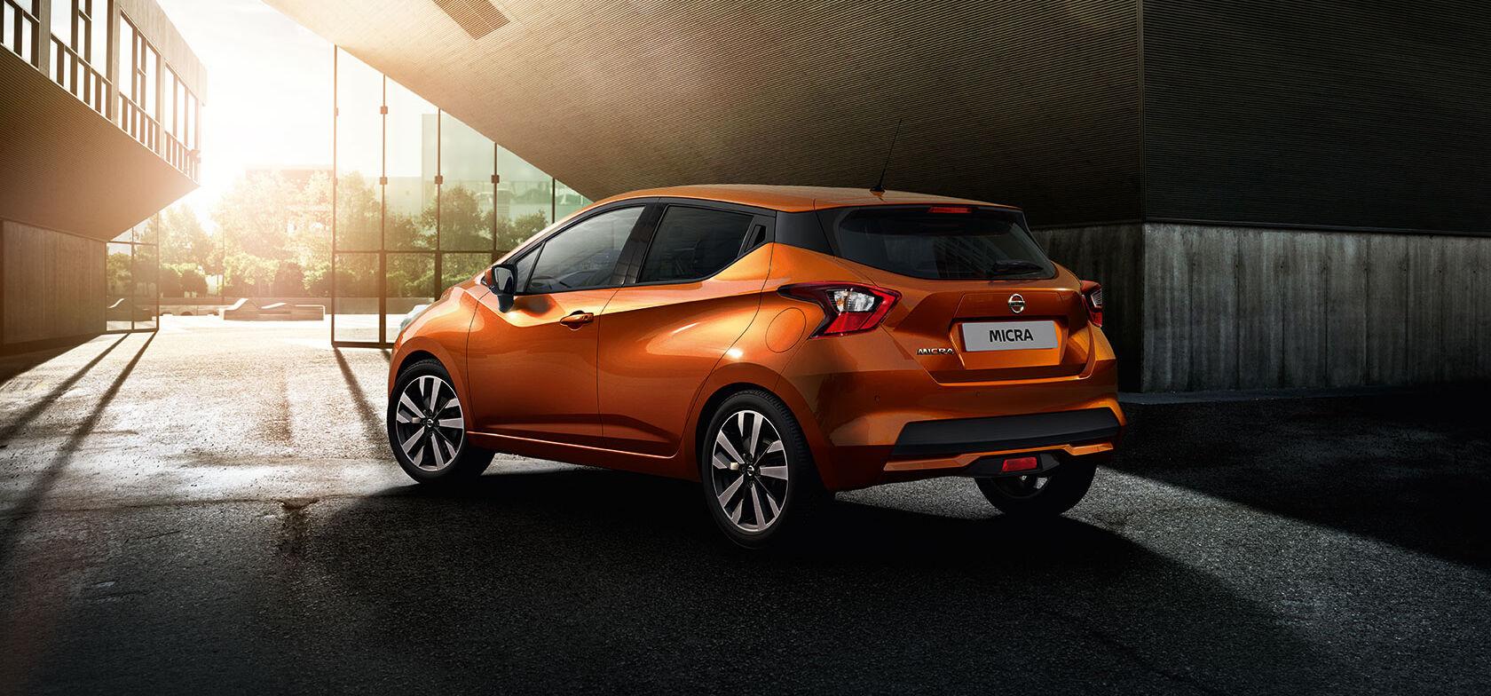 Nissan Micra kampanjahintaan